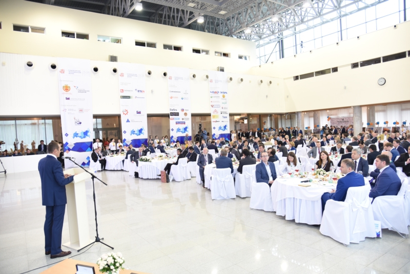 ВЧебоксары наXюбилейный экономический форум приехали участники из 9-ти стран