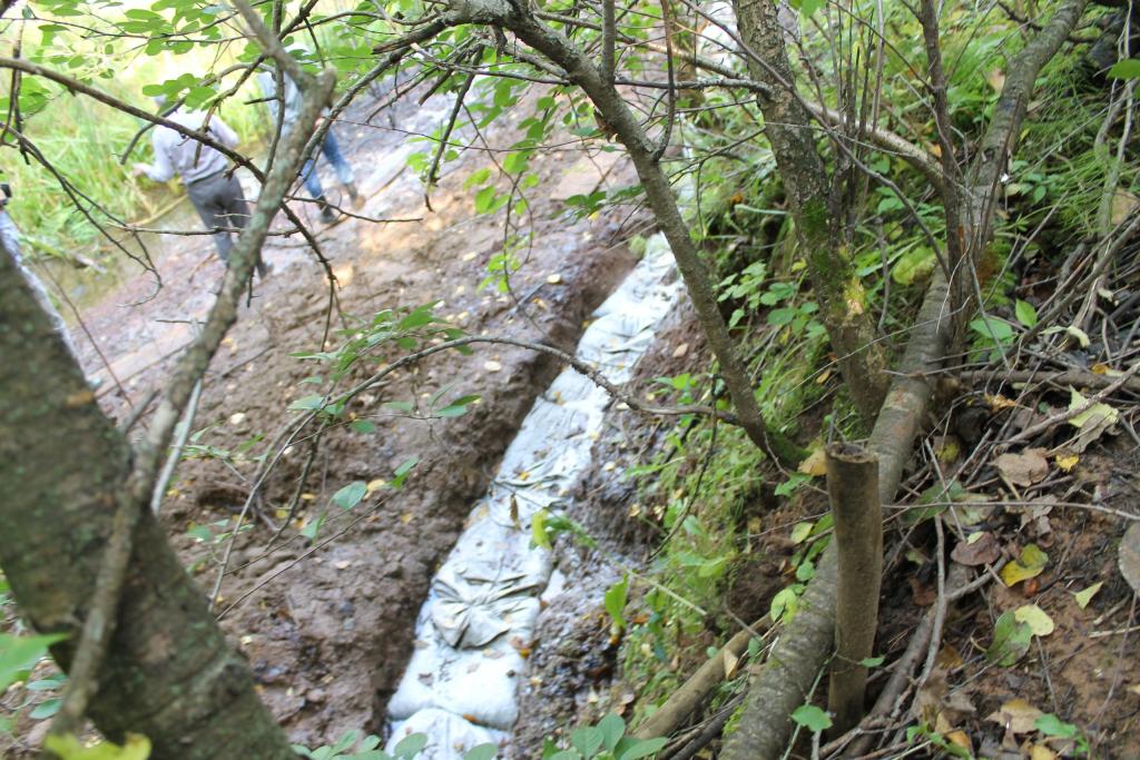 ВЧувашии ищут виновных взагрязнении Якимовского оврага