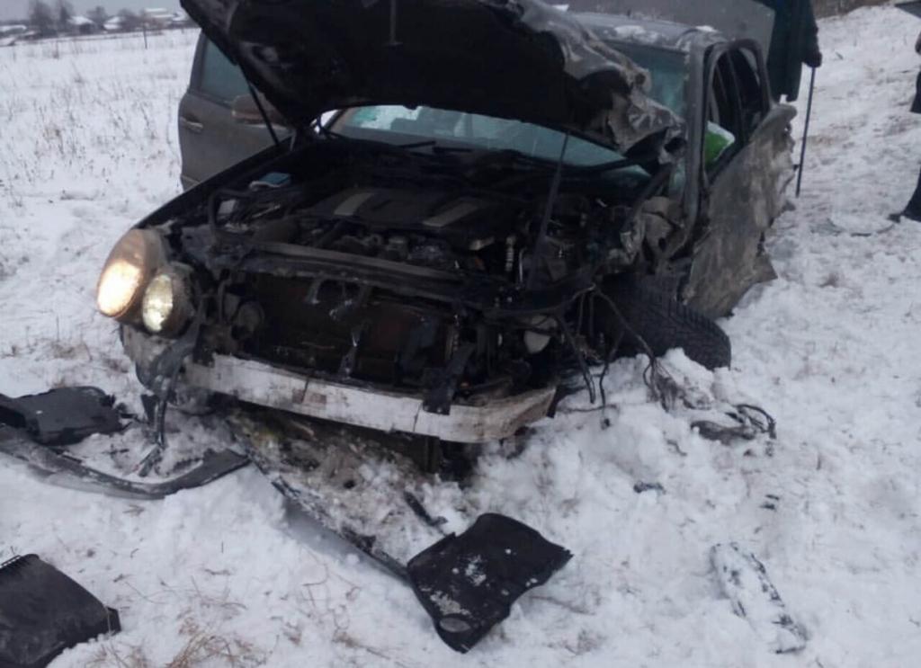 Чебоксарец попал в аварию на трассе