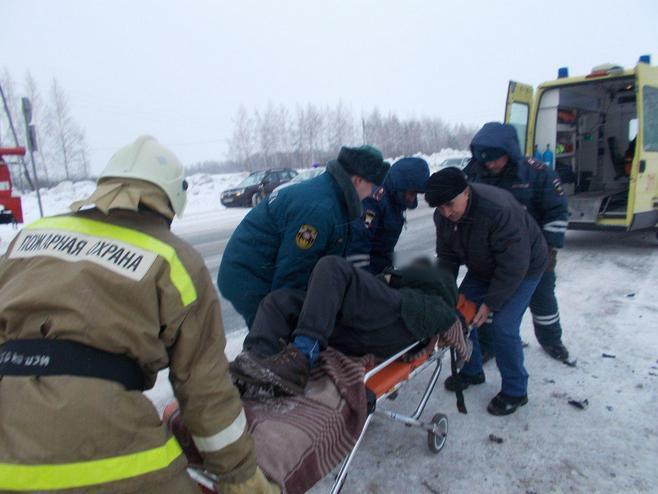 Жительница Чувашии погибла в столкновении на трассе в ...