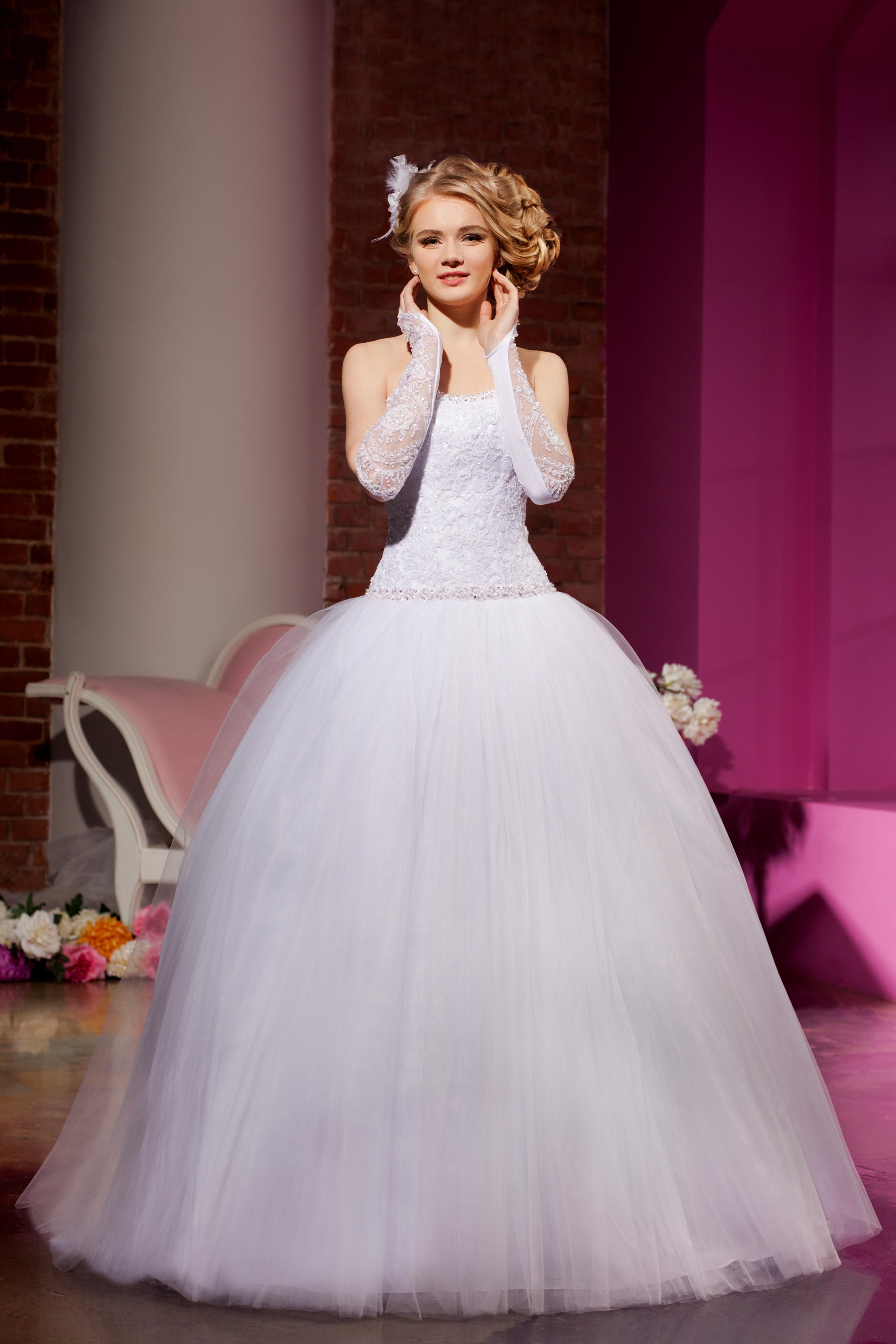 Модели и фасоны свадебных платьев
