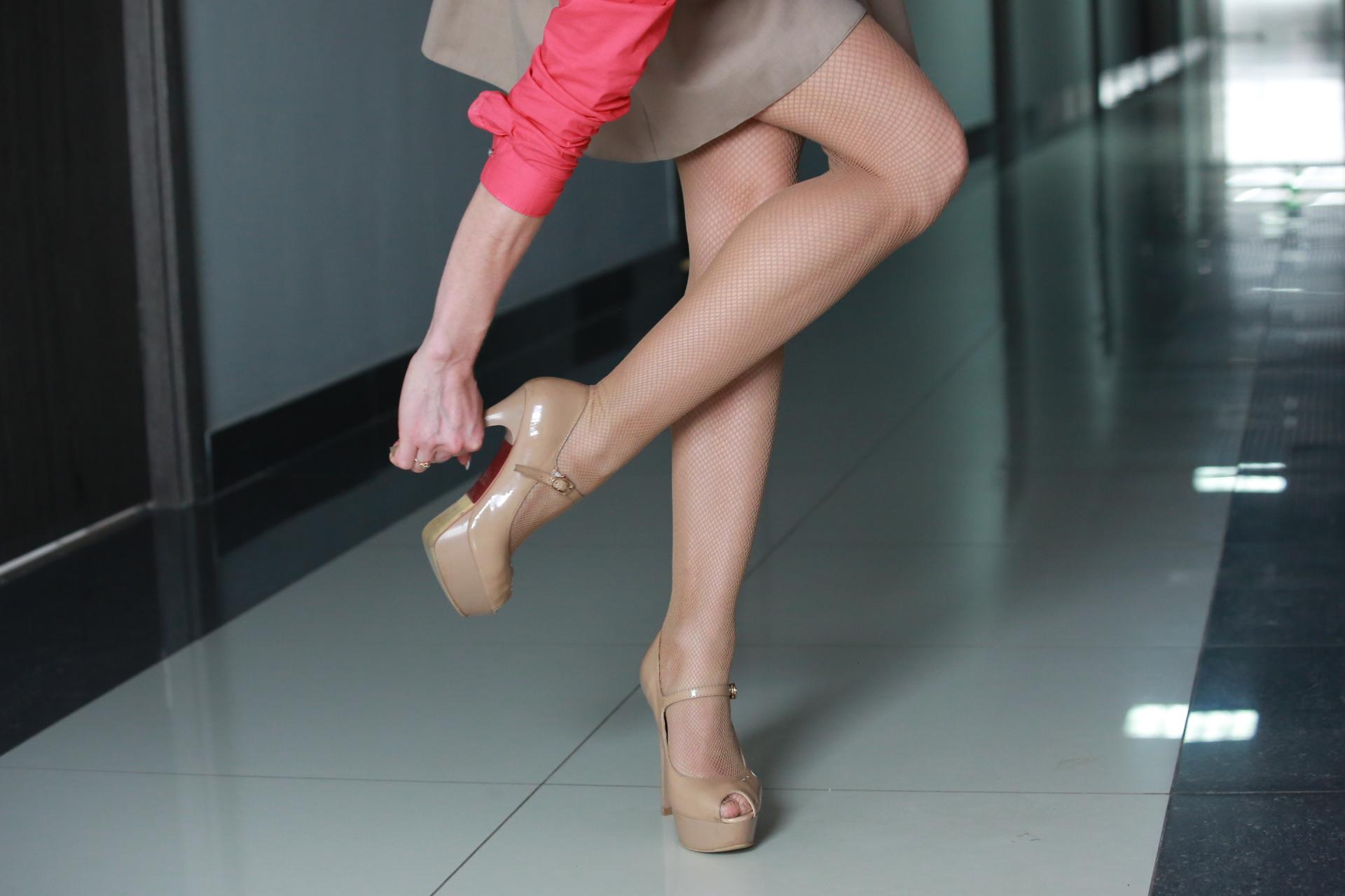 Женщина с каблуками секс