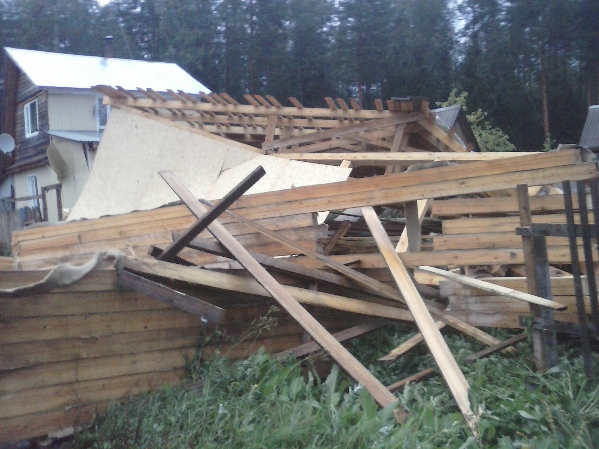 Сыктывкарский смерч: что наделал вгороде непродолжительный шторм