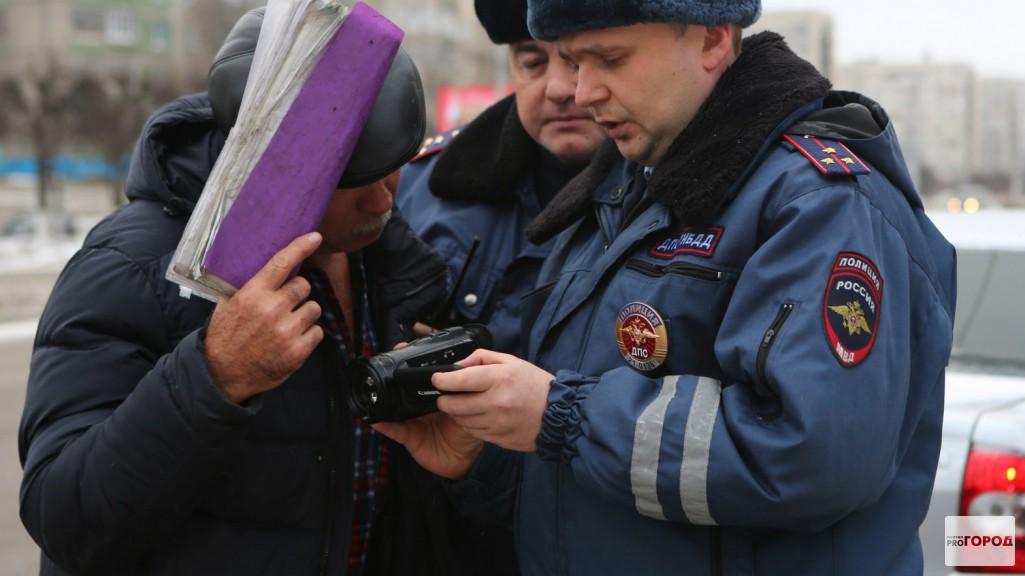 В Чебоксарах прошел рейд скрытого патруля ГИБДД (Фото, видео)