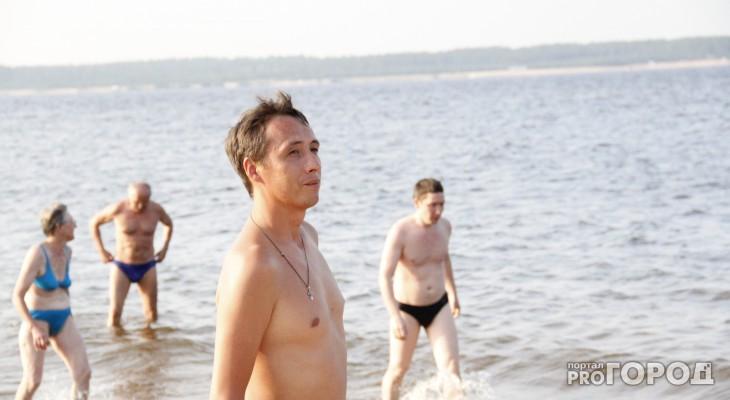 В Чебоксарах на пляже мужчина спас тонущих мальчиков