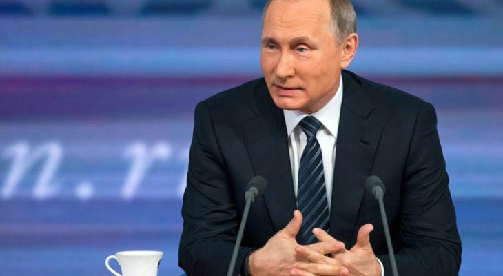 Большая пресс-конференция Владимира Путина в прямом эфире
