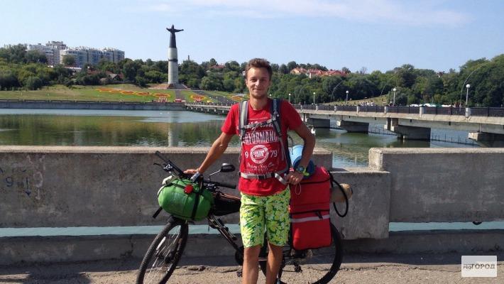 Чебоксары стали первым городом в кругосветном путешествии йошкар-олинского велосипедиста