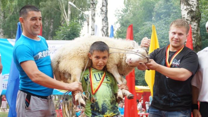 Чебоксарская Аллея искусств стала полем борьбы за живого барана