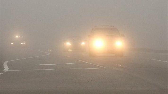 В Чебоксарах весь день туман, но дорожная ситуация  остается позитивной