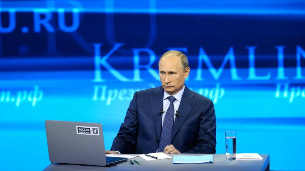 Сегодня Путин ответит на вопросы граждан в прямом эфире