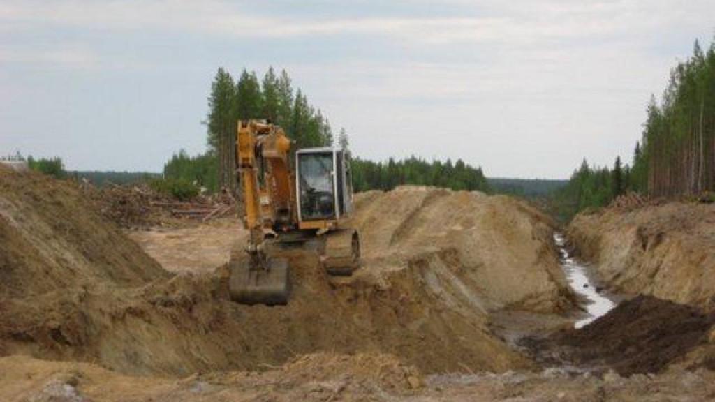 В Чебоксарах строители откопали останки мамонта