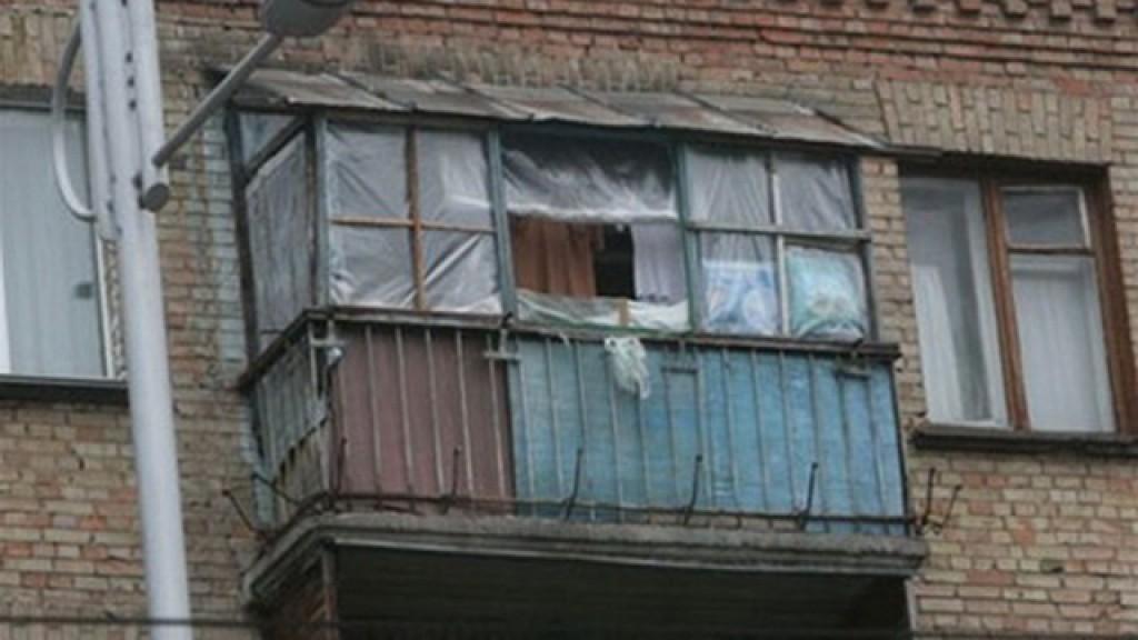 Киевлян заставят чинить балконы.