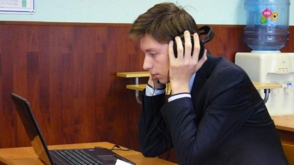 Выпускники Чувашии впервые сдают устную часть ЕГЭ по иностранному языку