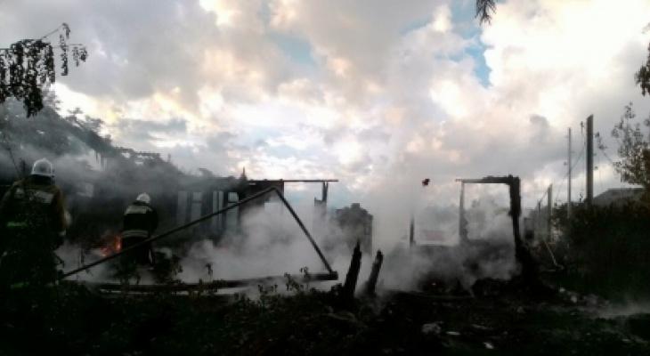В Вурнарском районе дотла сгорел медпункт