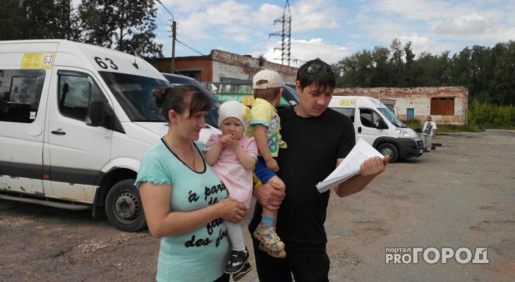 Чебоксарцы собирают подписи против отмены маршруток