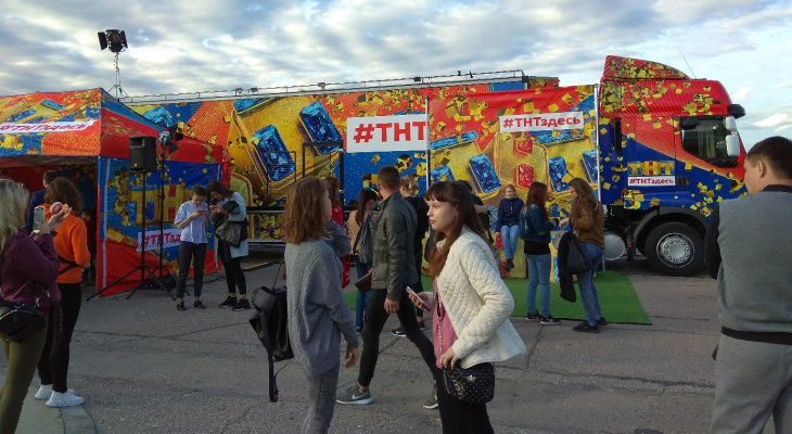 Съемочная группа канала ТНТ приехала в Чебоксары