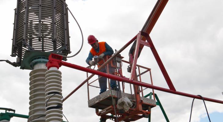 В Чебоксарах несколько районов отключают от электричества
