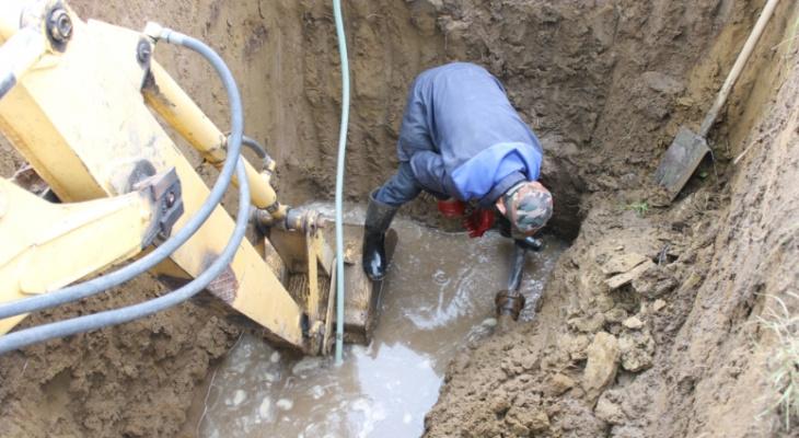 В Чебоксарах некоторые дома остались без воды и тепла из-за аварии