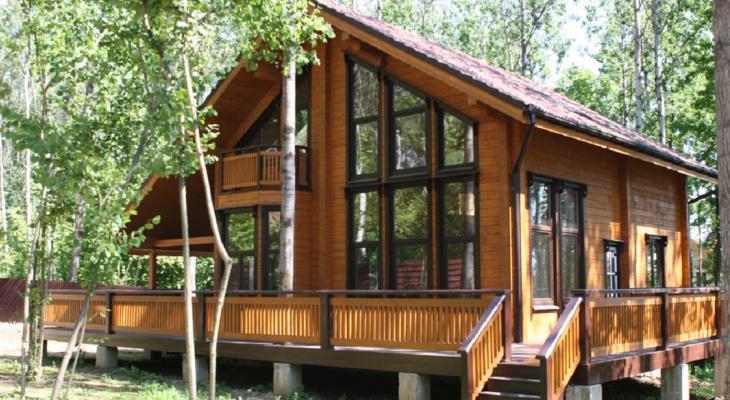 6 причин построить загородный экологичный дом из клееного бруса