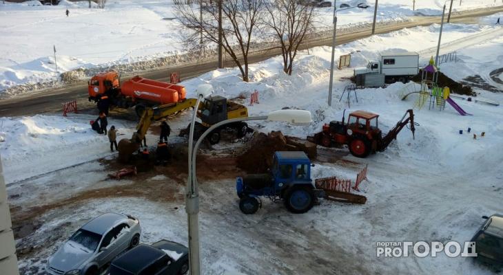 Жители нескольких домов в Новочебоксарске остались без воды