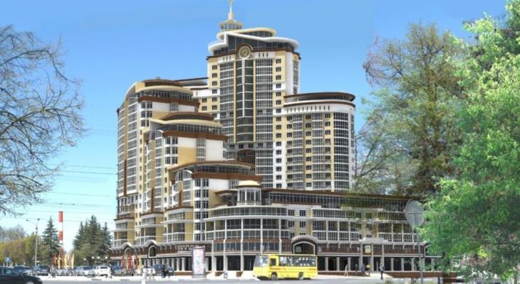 В Чебоксарах ведут спор о строительстве 28-этажного здания в центре города