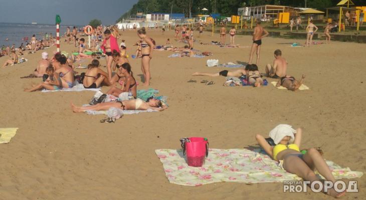 В Чебоксарах могут оставить только два пляжа на лето