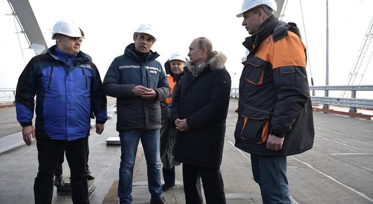В Кремле сообщили об открытии Крымского моста