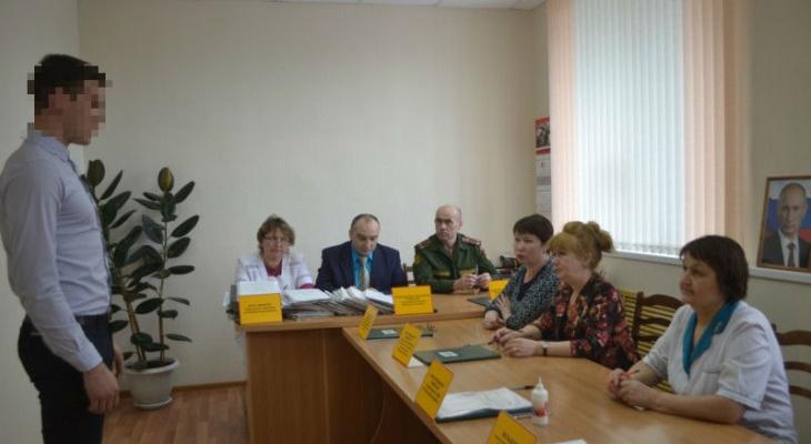 Студент в Чебоксарах предоставил военкомату справку о 28 болезнях