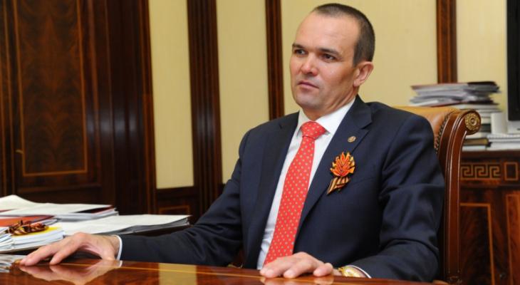 Игнатьев получил поздравительное письмо от Путина