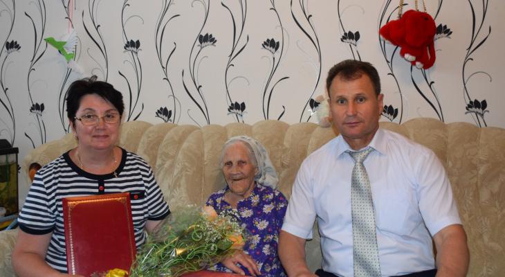 Старейшая жительница Шумерли отпраздновала день рождения
