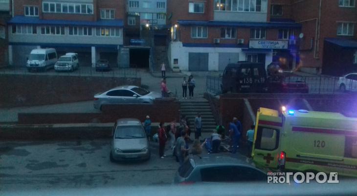 В Чебоксарах случилась драка между таксистом и двумя мужчинами