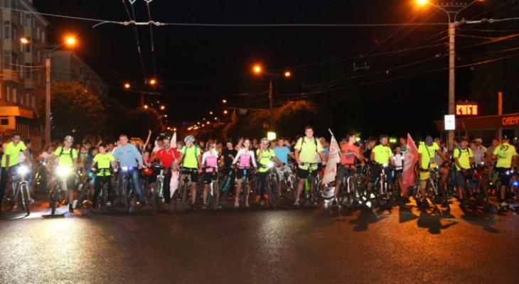 В Чебоксарах устроят ночной велопробег ко Дню города