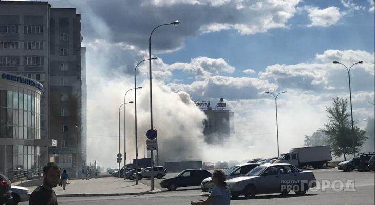 В Новоюжном районе кафе окутал дым