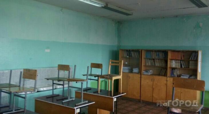 Кабинеты алатырской школы напоминают заброшенное здание