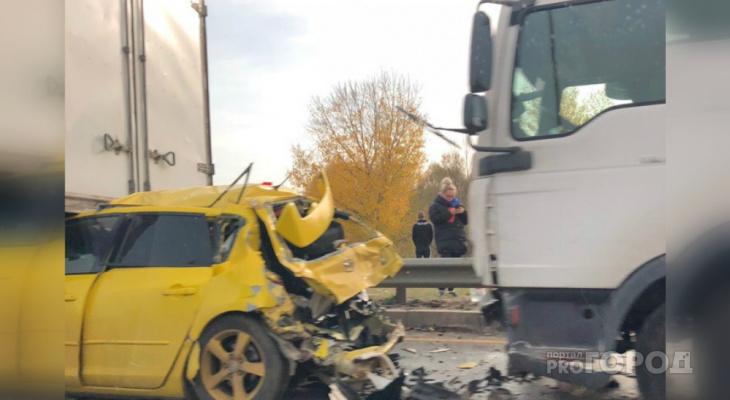 В Татарстане произошла массовая авария с участием КаМАЗа из Чувашии