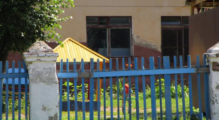 В чебоксарском детском саду во время тихого часа выбило окно