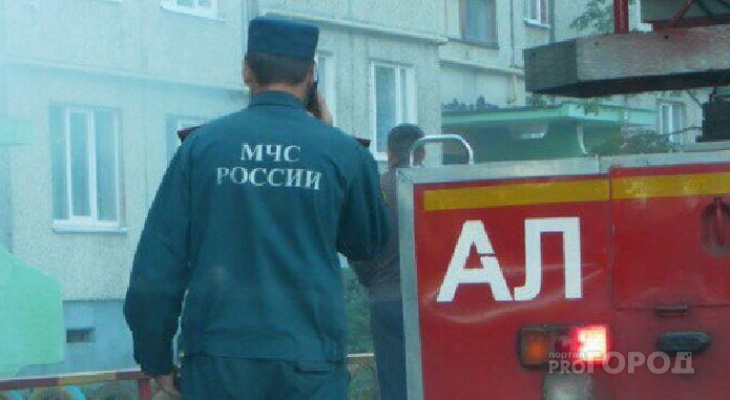 Причиной пожара в квартире Московского района мог стать поджог