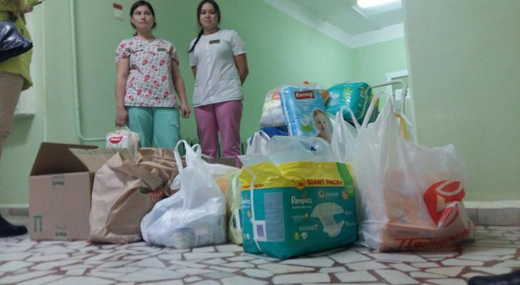 Читатели «Про Город» собрали чебоксарскому детскому хоспису сотни подарков