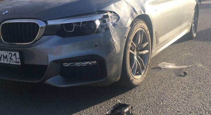 В Цивильском районе водитель BMW насмерть сбил женщину
