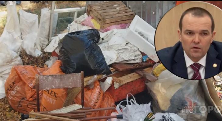 Глава республики раскритиковал работы регионального оператора по вывозу мусора