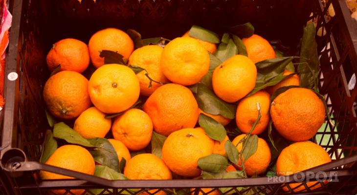 Сколько мандаринов можно купить на среднюю зарплату в Чувашии