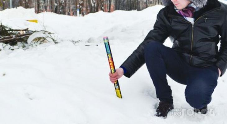 Жителей Чебоксар призывают запускать фейерверки в строго отведенных местах
