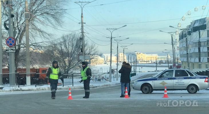 В Чебоксарах ограничили движение в центре города