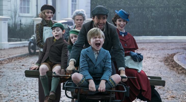 Кинопремьеры с 1 и 3 января: Мэри Поппинс, вежливый Дэдпул и Снежная королева