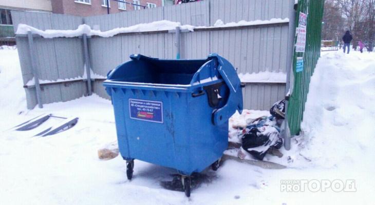 Праздники не повлияли на вывоз мусора со дворов Чебоксар