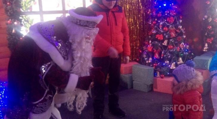 В центре Чебоксар работает резиденция Деда Мороза
