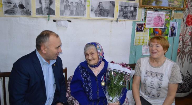 Жительнице Красноармейского района исполнилось 104 года