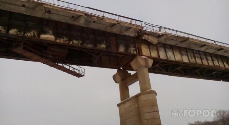 Жители считают Порецкий мост опасным для жизни