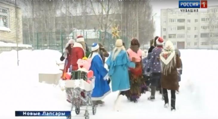 Как проходили Рождественские святки в Чебоксарах