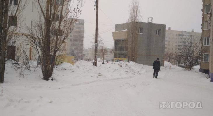 В понедельник местами по Чувашии синоптики обещают небольшой снег